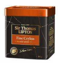 Чай Lipton Sir Thomas Fine Ceylon черный, листовой, 100г