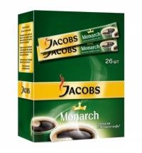 Кофе порционный Jacobs Monarch 26шт х 1.8г растворимый, коробка