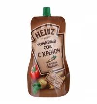 Соус Heinz томатный с хреном, 230г
