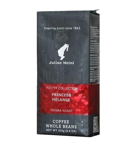 фото: Кофе в зернах Julius Meinl Princess Melange 250г пачка