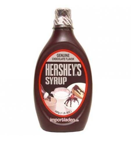 фото: Сироп Hersheys шоколад, 680г, ПЭТ