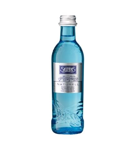фото: Вода минеральная Selters без газа, 275мл, стекло
