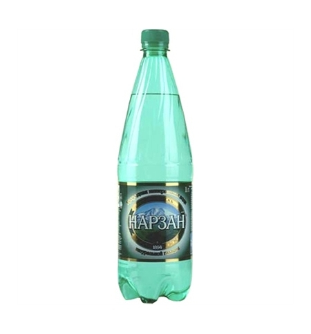 фото: Вода минеральная Нарзан газ, 1л, ПЭТ