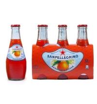 Напиток газированный Sanpellegrino Limonata красный апельсин, 200мл, стекло