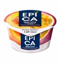 Йогурт Epica персик-маракуйя, 5%, 130г