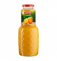 Сок Granini апельсин, 1л, стекло