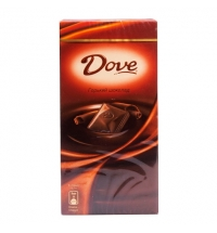 Шоколад Dove. горький, 90г