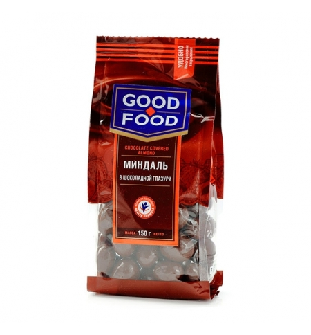фото: Миндаль Good Food вшоколаднойглазури, 150г