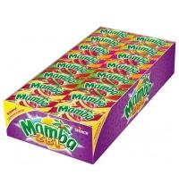 Жевательные конфеты Mamba 2 в 1, ассорти, 48шт/уп