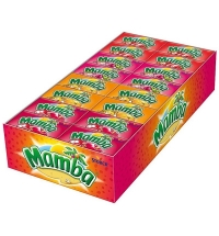 Жевательные конфеты Mamba Ассорти, 48шт/уп