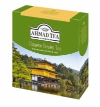 Чай Ahmad Китайский зеленый, 100 пакетиков