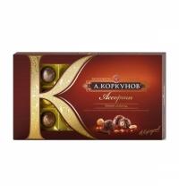 Конфеты Коркунов ассорти в темном шоколаде, 192г