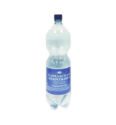фото: Минеральная вода Карельская Жемчужина газированная 1,5 л, ПЭТ
