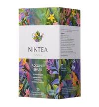 Чай Niktea Assorti Bright (Ассорти Брайт), ассорти, 25 пакетиков
