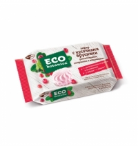 Зефир Eco-Botanica с кусочками брусники, 250г