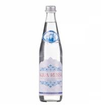 Вода минеральная Aqua Russa без газа, 500мл, стекло