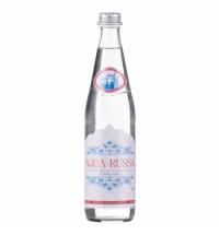 Вода минеральная Aqua Russa газ, 500мл ,стекло