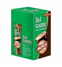 Кофе порционный Жокей Классический 3в1 10шт х 12г растворимый, коробка