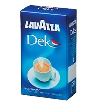 Кофе молотый Lavazza Decaffeinato 250г пачка, без кофеина
