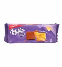 Печенье Milka в молочном шоколаде, 200г