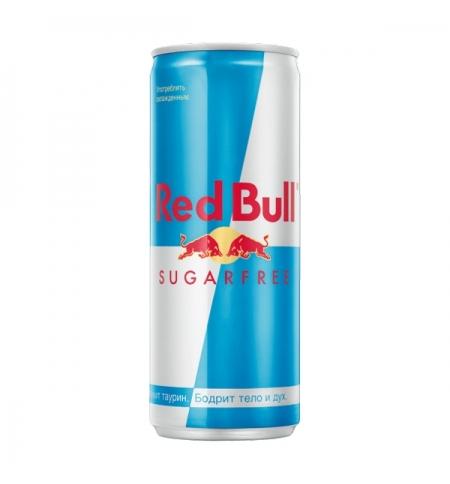 фото: Напиток энергетический Red Bull без сахара, 250мл, ж/б