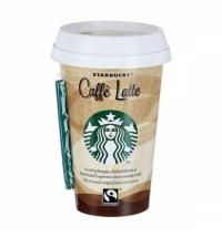 Холодный кофе Starbucks Caffe Latte, 2.6%, молочный ультрапастеризованный, 220мл