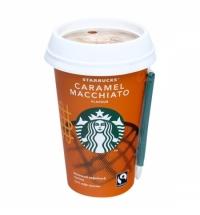 Холодный кофе Starbucks Caramel Macchiato, 1.6%, молочный ультрапастеризованный, 220мл