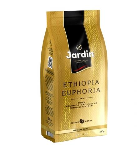 фото: Кофе в зернах Jardin Ethiopia Euphoria (Эфиопия Эйфория) 250г пачка