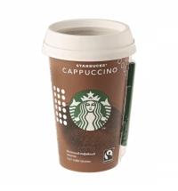 Холодный кофе Starbucks Cappuccino, 2.5%, молочный ультрапастеризованный, 220мл