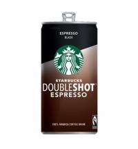 Холодный кофе Starbucks Doubleshot Espresso, 2.6%, молочный стерилизованный, 200мл