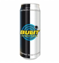 Напиток энергетический Bullit 500мл, ж/б