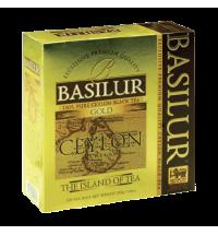 Чай Basilur The island of tea Gold, черный, 100 пакетиков