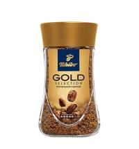 Кофе растворимый Tchibo Gold Selection 95г стекло