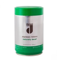 Кофе молотый Danesi Decaf 250г ж/б, без кофеина