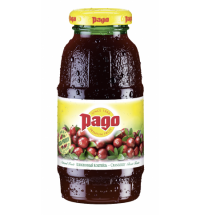 Сокосодержащий напиток Pago клюква, 200мл, стекло