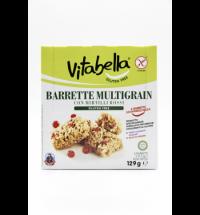 Батончик мюсли Vitabella мультизлаковый, с красными ягодами, безглютеновый, 6шт х 21.5г