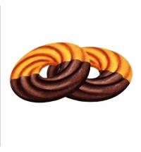 Печенье Сладкая Слобода Домашнее молочное глазированное кольцо, 2кг