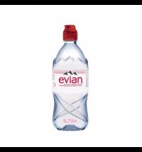 Вода минеральная Evian Спорт без газа, 750мл, ПЭТ