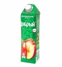 Нектар Добрый яблоко с мякотью, 1л