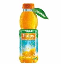 Сокосодержащий напиток Добрый Pulpy апельсин с мякотью, 900мл