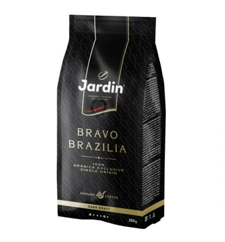 фото: Кофе молотый Jardin Bravo Brazilia (Браво Бразилия) 250г пачка