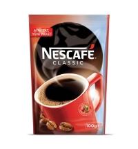Кофе растворимый Nescafe Classic 100г пакет