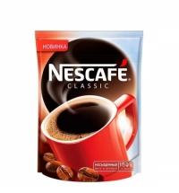 Кофе растворимый Nescafe Classic 150г пакет