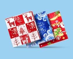 Салфетки сервировочные новогодние