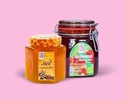 Мед, варенье, сиропы