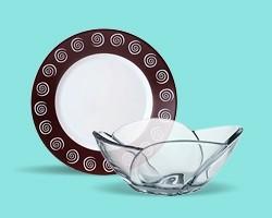 Тарелки, салатники
