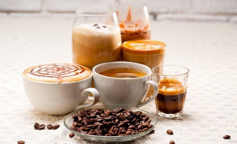 Виды кофе и кофейных напитков, их названия